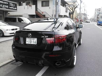 BMW X6 ジャガーj-completeカスタム
