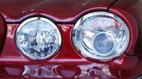 ジャガー x350ヘッドライトメッキトリム
